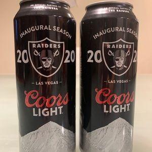 Coors Light Las Vegas Raiders Inaugural Season